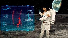 El Tiempo de TVE, en la Luna: ¿qué condiciones meteorológicas tiene nuestro satélite?