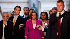 """La Cámara Baja de EE.UU. aprueba la resolución contra los tuits """"racistas"""" de Trump"""