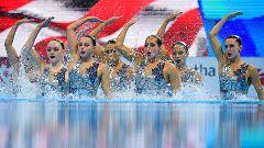 Mundial de Natación de Gwangju - Natación artística: Preliminares libre por Equipos
