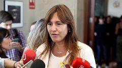 """Borràs (JxCat): """"No se dan las circunstancias para poder dar nuestro voto positivo a Sánchez, ni siquiera abstenernos"""""""
