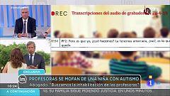 """La mañana - El abogado de la familia: """"El trabajo efectivos de las docentes con los alumnos es de 8 minutos y con Valeria de 0"""""""