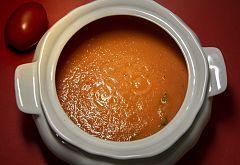 """Sopa de tomate"" de Dani García"