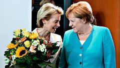 Ursula von der Leyen deja el Ministerio de Defensa alemán tras ser elegida presidenta de la Comisión Europea