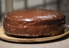 """Tarta de chocolate"" de Dani García"