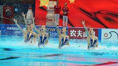Mundial de Natación de Gwangju - Natación artística: Preliminares Combinada libre