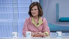 Los desayunos de TVE - Carmen Calvo, vicepresidenta del Gobierno en funciones