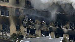 Más de una veintena de muertos en un incendio provocado en un estudio de animación en Kioto