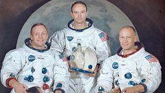 Elegidos para ir a la Luna: quiénes eran Armstrong, Aldrin y Collins
