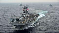 Trump asegura que EE.UU. ha derribado un dron iraní en el estrecho de Ormuz