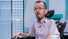 """Echenique critica que la propuesta de Sánchez busca que Podemos """"diga que no"""" porque con Iglesias """"veta a todo el partido"""""""