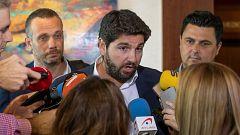 PP y Cs aceptan el documento de Vox y desbloquean la investidura de López Miras en Murcia