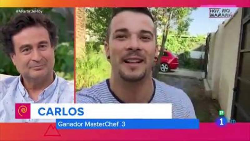 Los exconcursantes de 'Masterchef' sorprenden a Pepe Rodríguez