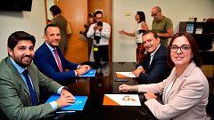 PP y Cs aceptan las condiciones de Vox y desbloquean la investidura en Murcia