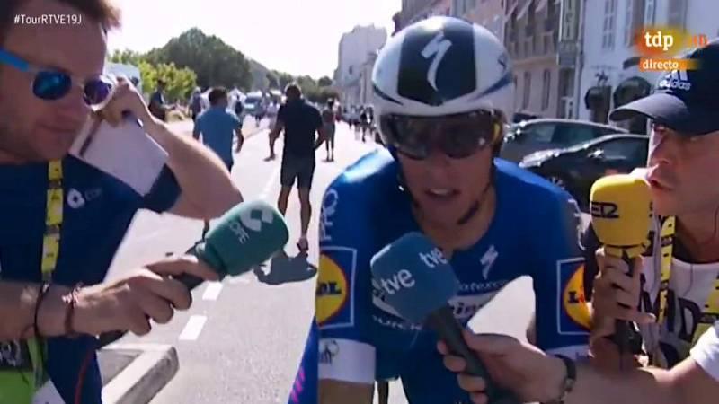El ciclista español Enric Mas (Deceuninck-Quick Step) ha afianzado sus opciones en la carrera después de finalizar noveno a 44 segundos del actual ganador.