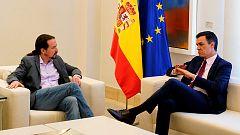 Dos meses de desencuentros entre Sánchez e Iglesias