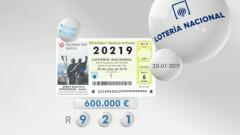 Lotería viajera - 20/07/19