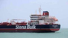 El petrolero británico capturado por Irán ha sido conducido al puerto militar de Bandar Abbas en el estrecho de Ormuz