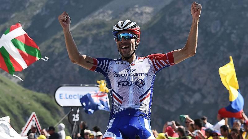 Pinot gana en el Tourmalet y Alaphilippe refuerza su liderato