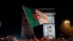 Locura en Francia y Algeria por la victoria en la Copa de África