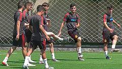 España busca las semifinales del Europeo sub 19