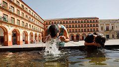 Temperaturas significativamente altas en la mitad sur peninsular, zona centro, valle del Ebro y en Mallorca