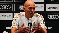 Zidane anuncia la inminente salida de Bale