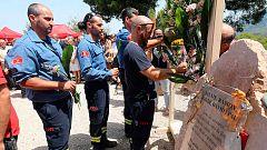Se cumplen diez años del incendio de Horta de Sant Joan, en Tarragona