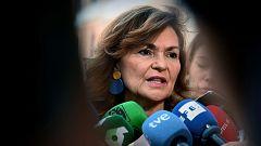 """Carmen Calvo: """"En las políticas de Estado estamos muy lejos de Unidas Podemos"""""""