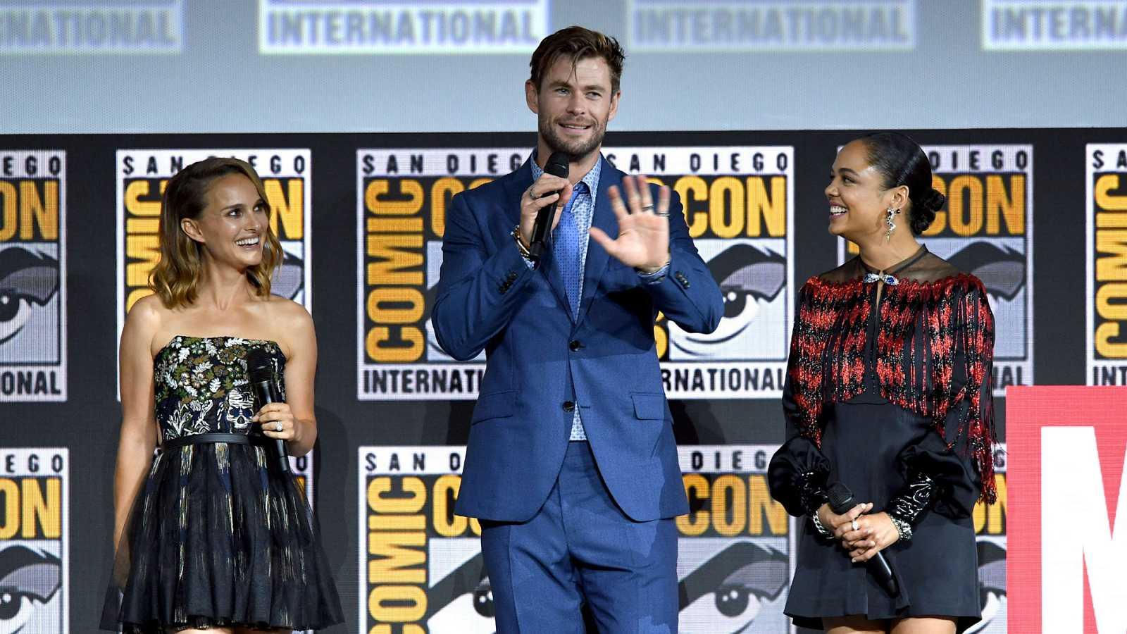 Marvel presenta en la Comic-Con la cuarta entrega de Thor, que protagonizará Natalie Portman
