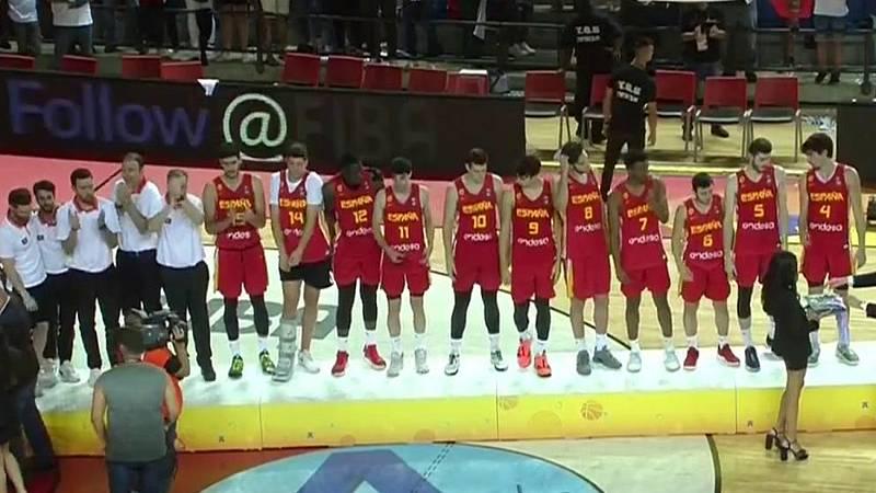 España pierde la final del Eurobasket sub'20