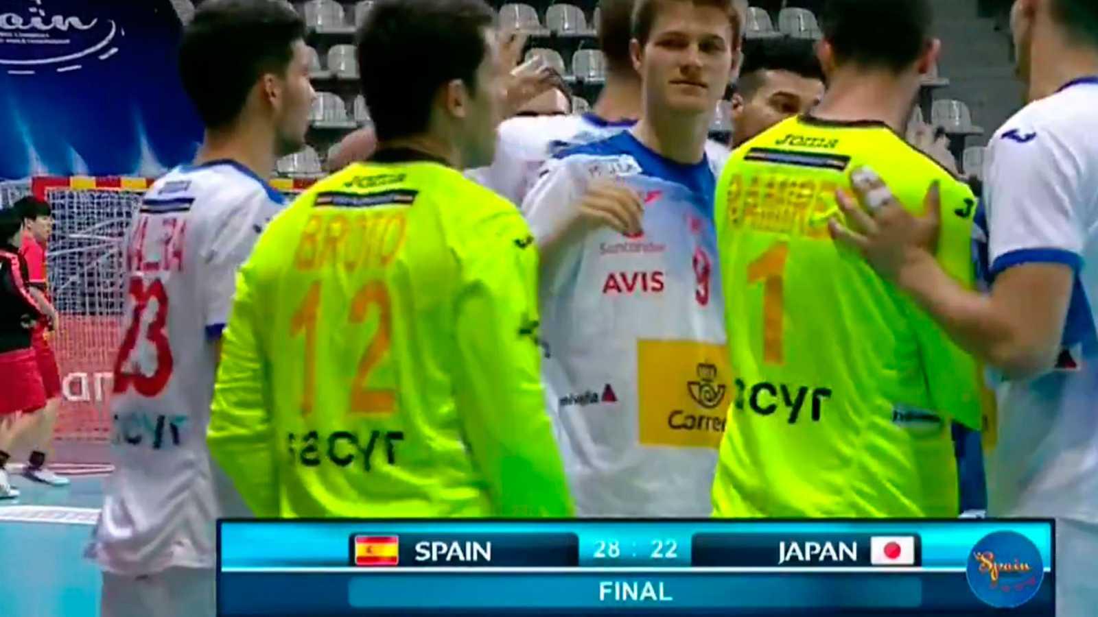 España cumple ante Japón y se jugará el primer puesto con Eslovenia