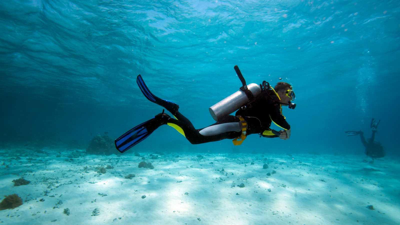 ¿Es posible dibujar bajo el agua?