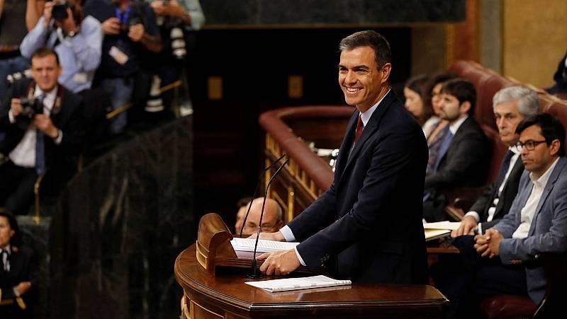 Sánchez aboga por reformar la Constitución para agilizar la formación de Gobierno