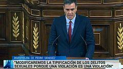 Pedro Sánchez apela a la conciliación de la vida familiar y a la reducción de la brecha salarial en su discurso de investidura