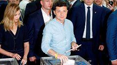 El partido de Zalenski sigue arrasando en Ucrania