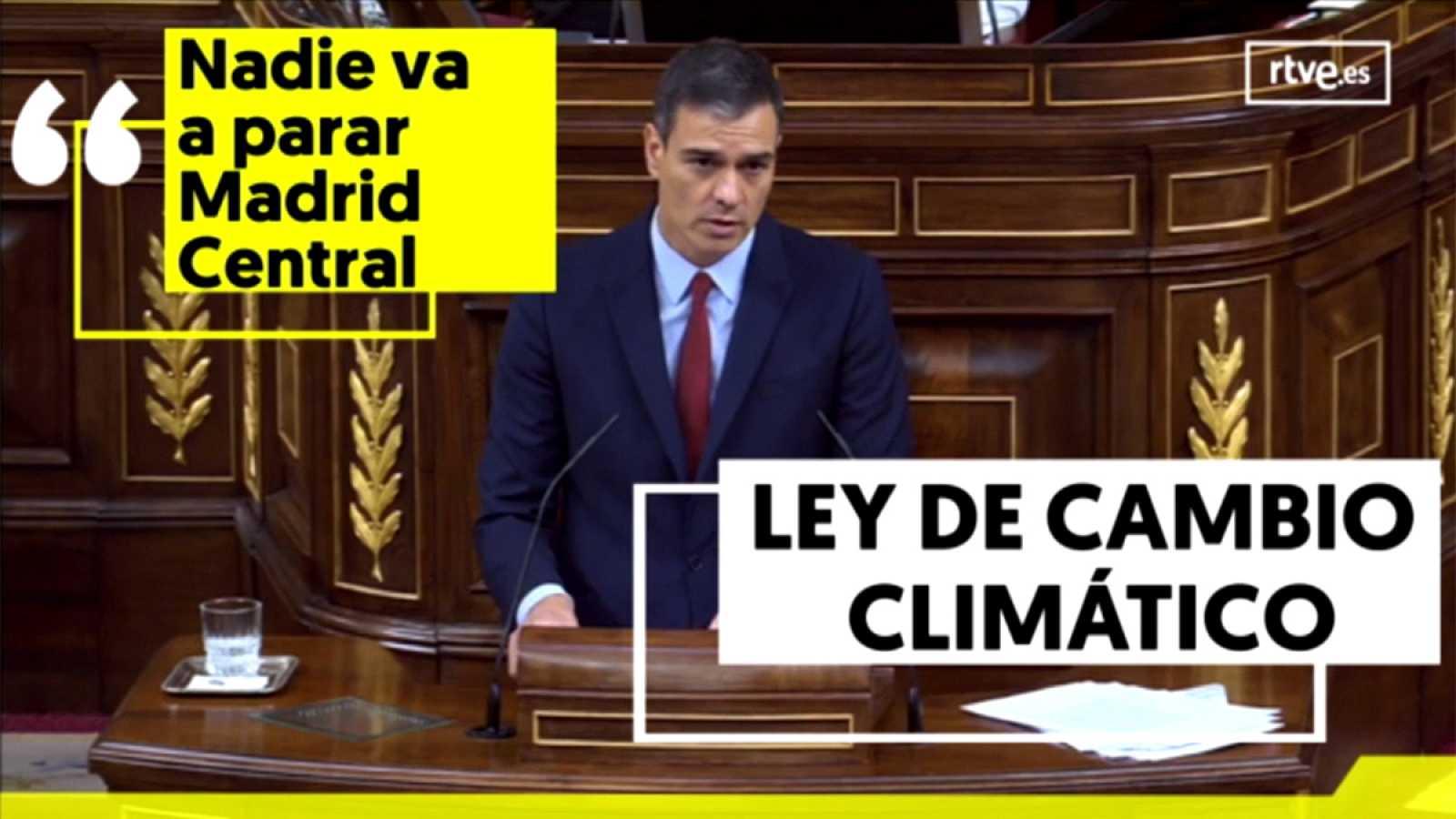 Seis titulares del discurso de Pedro Sánchez en el debate de investidura