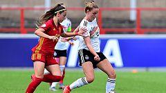 España empata ante Alemania (0-0) en el Europeo sub-19 femenino