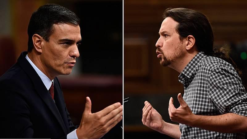 La primera sesión de investidura concluye con un tenso debate y sin acuerdo entre Sánchez e Iglesias