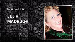 En recuerdo de Julia Madruga, asesinada por violencia de género en marzo de 2010