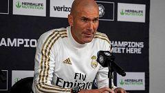 """Zidane: """"Bale no se cambió porque no quería"""""""