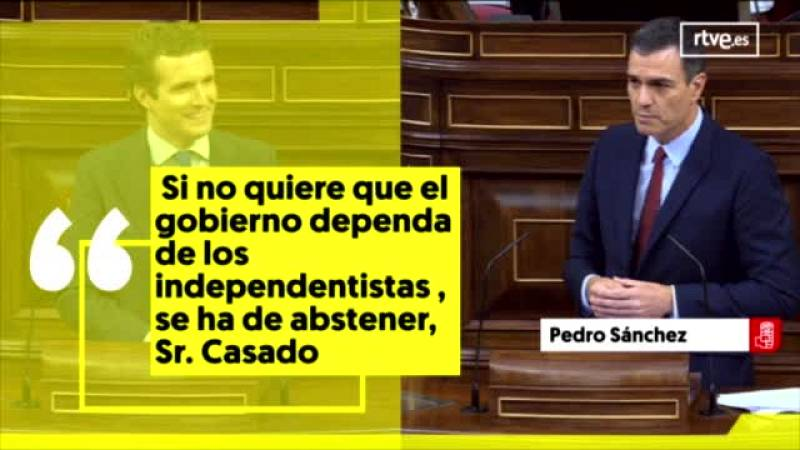 Los rifirrafes más sonados del debate de investidura de Pedro Sánchez