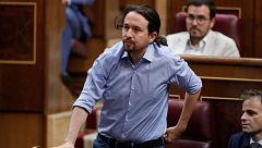 """Podemos se abstiene en el último momento como """"gesto"""" para seguir negociando con Sánchez"""