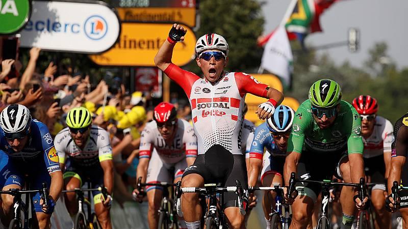 Caleb Ewan suma su segunda victoria en el Tour