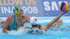 Mundial de Natación de Gwangju - Waterpolo Femenino 1ª Semifinal: EE.UU. - Australia
