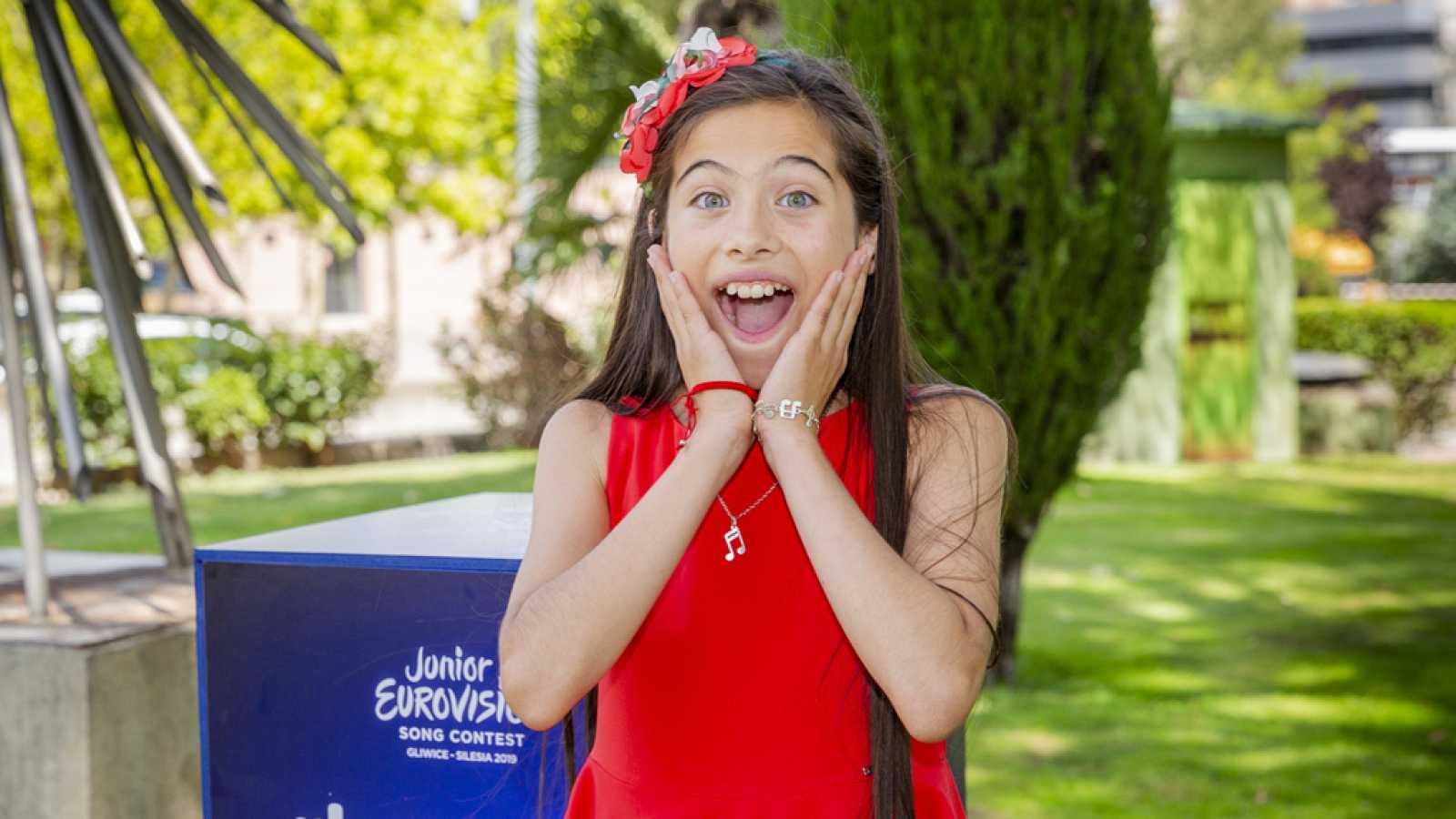 Eurovisión Junior 2019 - Melani, representante de España en Eurovisión Junior