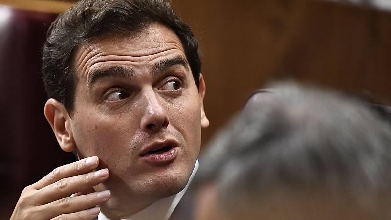 """Rivera critica a Sánchez e Iglesias: """"No se han peleado por las políticas, se han peleado por los sillones"""""""