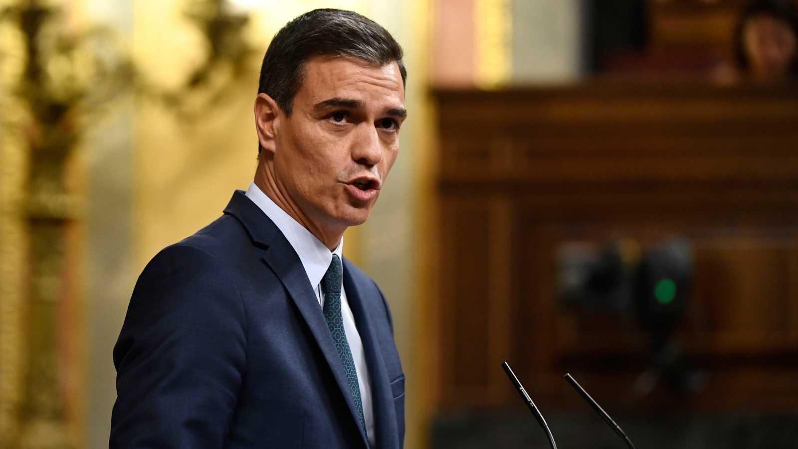 """Sánchez afirma que elige sus """"convicciones"""" antes que ser presidente y acusa a Iglesias de querer """"controlar"""" el Gobierno"""