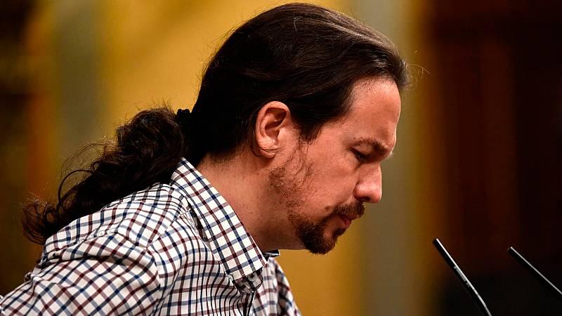 Iglesias ofrece en pleno debate renunciar a Trabajo a cambio de las políticas activas de empleo