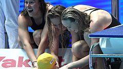 Australia bate el récord del mundo del 4x200 femenino
