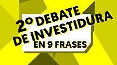 Los mejores momentos del debate de investidura